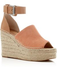 Marc Fisher - Adalyn Suede Espadrille Wedge Sandals - Lyst