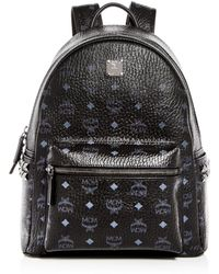 MCM - Visetos Medium Stark Studded Backpack - Lyst