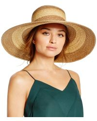 Bettina - Two-tone Floppy Hat - Lyst