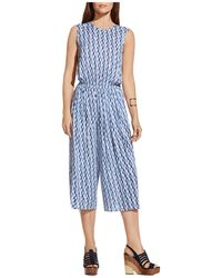 Two By Vince Camuto - Abstract Print Jumpsuit - Lyst