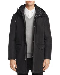 Cole Haan - Hooded Parka Jacket - Lyst