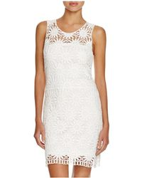 Macbeth Collection - Crocheted Dress Swim Cover Up - Lyst