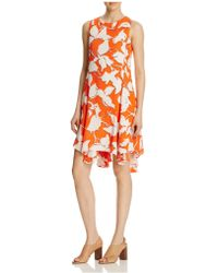 Julia Jordan - Sleeveless Floral Swing Dress - Compare At $168 - Lyst