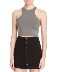 Groceries Apparel - Knife Crop Top - Lyst