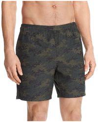 Rhone - Guru Camouflage Shorts - Lyst