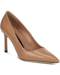 Via Spiga - Women's Nikole Leather Pointed Toe High Heel Court Shoes - Lyst