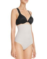 Tc Fine Intimates - High-waisted Moderate Control Thong - Lyst