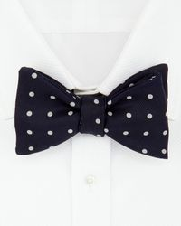 Turnbull & Asser - Churchill Polka Dot Bow Tie - Lyst
