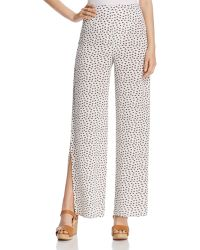 Oober Swank - Waist Tie Palazzo Trousers - Compare At $88 - Lyst