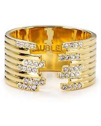 BaubleBar - Gatsby Ring - Lyst