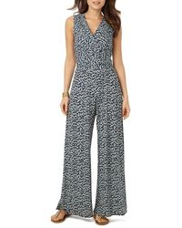 Phase Eight - Bette Printed Jumpsuit - Lyst