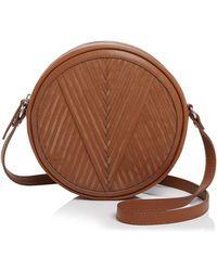 Lili Radu - Circle V-pattern Shoulder Bag - Lyst