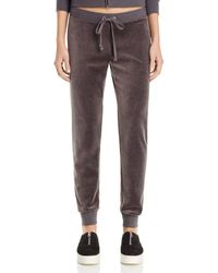 Juicy Couture - Zuma Velour Jogger Pants - 100% Bloomingdale's Exclusive - Lyst