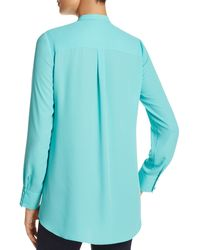 Sioni | Ruffle Front Top - Compare At $66 | Lyst
