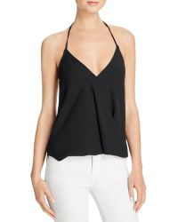 Olivaceous - Crossover Halter Top - Lyst