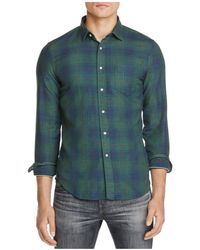 Haspel - Constance Plaid Regular Fit Button-down Shirt - Lyst