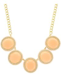 Sparkling Sage - Round Stone Collage Statement Necklace - Compare At $147 - Lyst