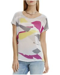 Two By Vince Camuto - Abstract Print Tee - Lyst