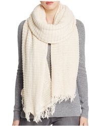 Donni Charm - Long Ribbed Knit Scarf - Lyst