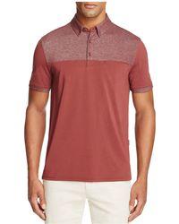 AG Green Label - Davis Regular Fit Polo Shirt - Lyst