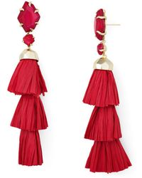 Kendra Scott - Denise Tiered Tassel Drop Earrings - Lyst