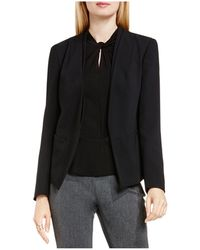 Vince Camuto - Collarless Open Front Blazer - Lyst