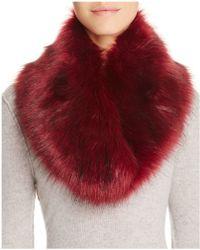 Cara - Faux Fur Collar - Lyst