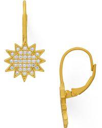 Freida Rothman - Starburst Drop Earrings - Lyst