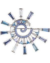Eddie Borgo - Galaxy Spiral Brooch - Lyst
