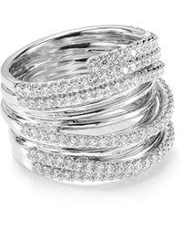 Nadri - Pavé Orbit Ring - Lyst