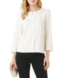 Phase Eight - Marilyn Peter Pan Collar Blouse - Lyst