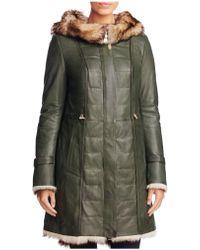 Maximilian - Toscana Shearling-lined Coat - Lyst