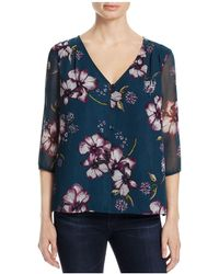 Cupcakes And Cashmere - Tibet Floral Top - Lyst
