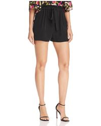 MILLY - Kori High Rise Shorts - Lyst