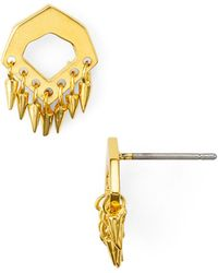Botkier - Fringed Stud Earrings - Lyst