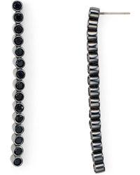 Botkier - Linear Drop Earrings - Lyst