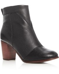 TOMS - Lunata High Heel Booties - Lyst