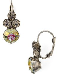 Sorrelli - Sorreli Leverback Earrings - Lyst