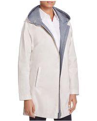 Basler - Hooded Raincoat - Lyst