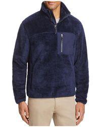 Surfside Supply - Sherpa Half-zip Pullover - Lyst