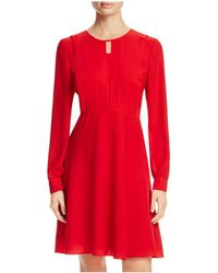 Finity - Front Keyhole A-line Dress - Lyst