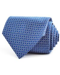 Turnbull & Asser - Textured Squares Geometric Neat Classic Tie - Lyst