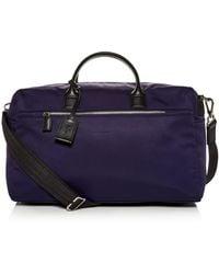 Longchamp - Baxi Toile Duffel Bag - Lyst 1f373d022f898