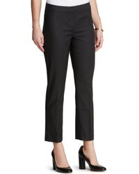 NIC+ZOE - Nic+zoe Skinny Ankle Trousers - Lyst