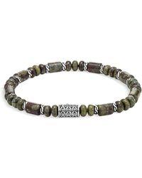 John Hardy - Sterling Silver Classic Chain Jasper Beaded Bracelet - Lyst