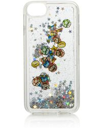 Skinnydip London - Liquid Glitter Nintendo Character Iphone 7/8 Case - Lyst