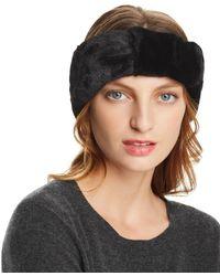 Echo - Faux Fur Headband - Lyst