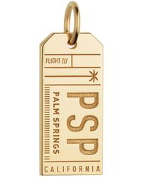 Jet Set Candy - Psp Palm Springs California Luggage Tag Charm - Lyst