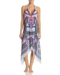 Ramy Brook - Kym Printed Dress Swim Cover-up - Lyst