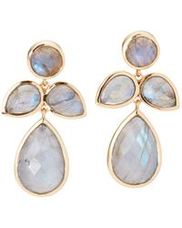 Margaret Elizabeth - Fleur Drop Earrings - Lyst